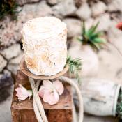 Nautical Wedding Cake Table