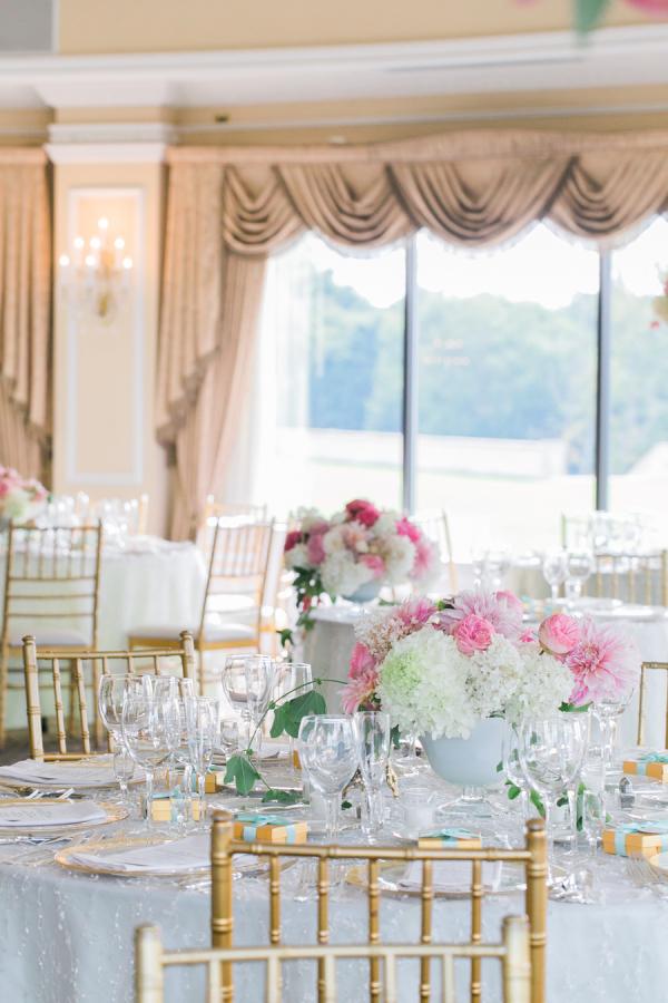 Pink And Gold Wedding Reception Elizabeth Anne Designs The