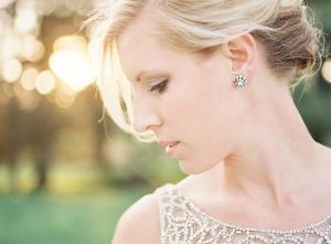 Pretty Bridal Earrings