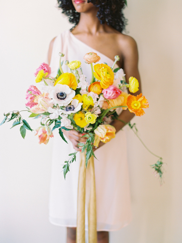 Ribbon Tied Bouquet