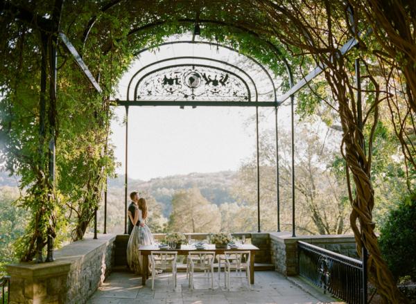 Romantic Estate Wedding Inspiration Archetype Photography