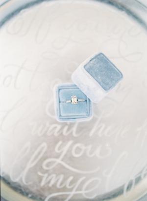 Something Blue Ring Box