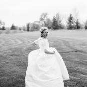 Vintage Inspired Bridal Portrait