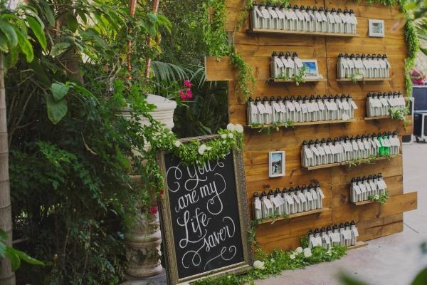 Water Bottle Wedding Favors