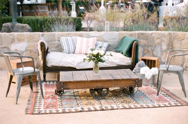 Wedding Lounge with Rug