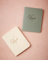BHLDN Vow Journals
