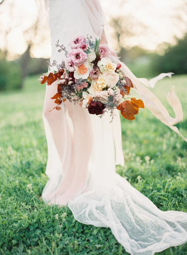 Bohemian Bridal Bouquet By Kelly Lenard