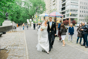 Bride and Groom in Manhattan