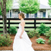 Bride at Georgia Wedding