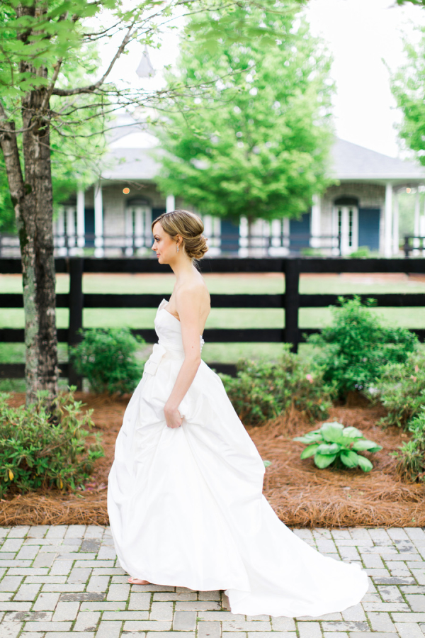 Bride at Georgia Wedding