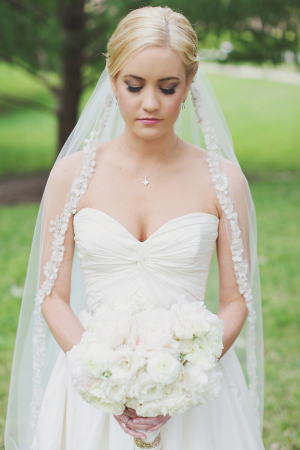 Bride in Long Veil