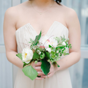 Bridesmaid in Ivory