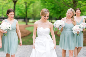Bridesmaids in JCrew Arabelle
