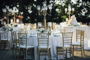 Candelabra Wedding Centerpiece