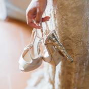 Christian Dior Bridal Shoes