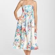 Cynthia Rowley Floral Dress