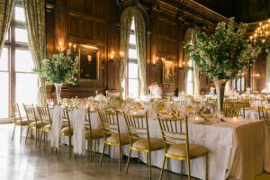 Elegant Gold and Ivory Reception