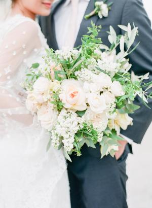 Elegant Pale Blush Bouquet