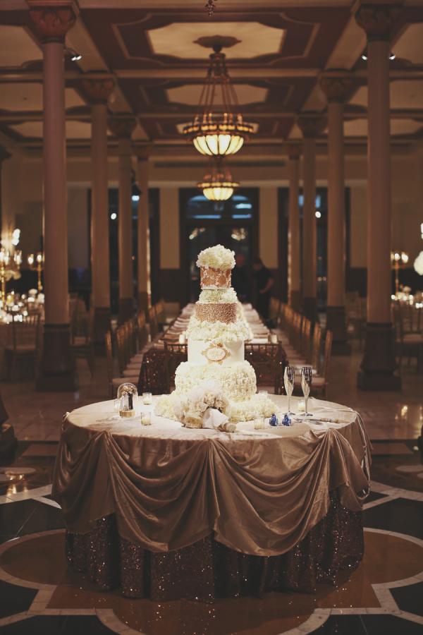 Elegant Wedding Cake Table Elizabeth Anne Designs The