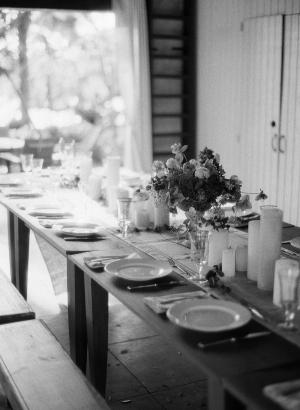 Farmhouse Wedding Table