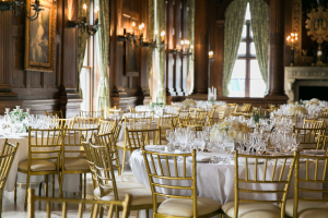 Gold and Ivory Club Reception