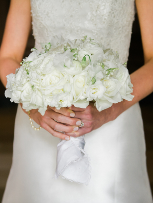Handkerchief Wrapped Bouquet