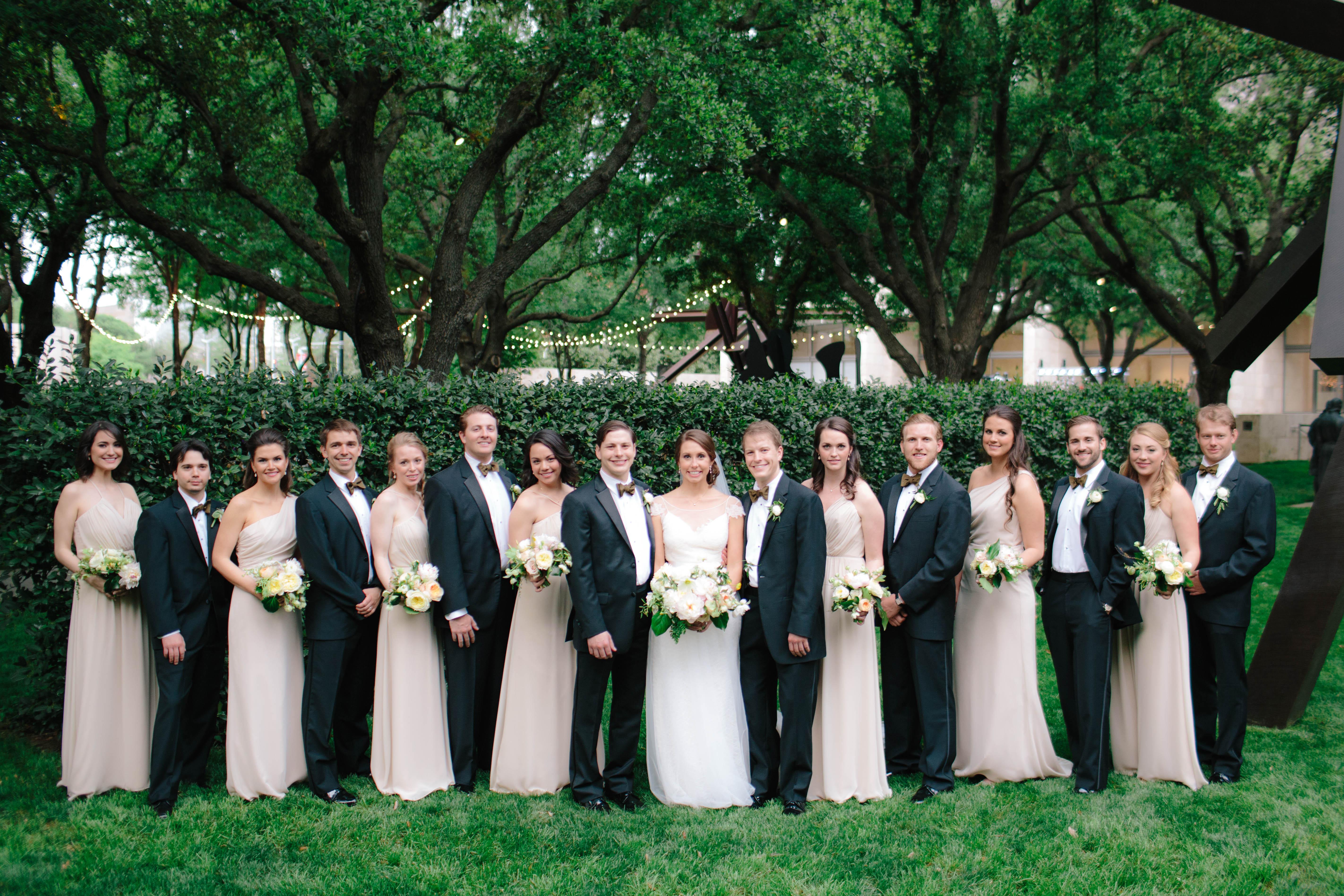Ivory and Black Wedding Party - Elizabeth Anne Designs: The Wedding Blog