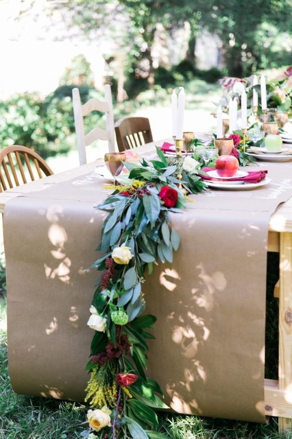 Kraft Paper Tablecloth
