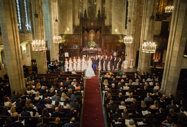 NYC Cathedral Wedding