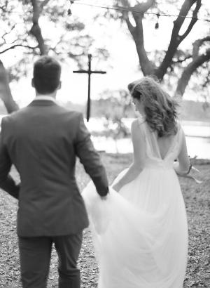 Organic Neutral Wedding Ideas 54