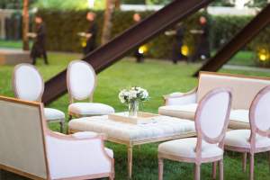 Outdoor Wedding Lounge
