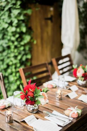 Restaurant Patio Wedding