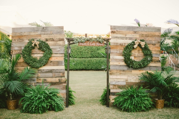 Rustic Wedding Arch Decor