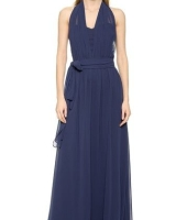 Sammy Long Convertible Dress Navy