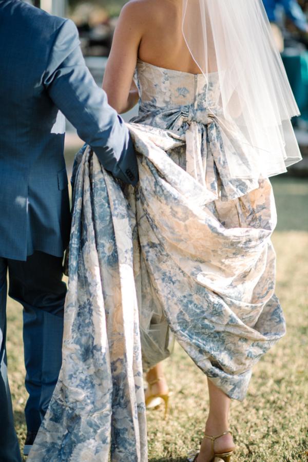 Toile Wedding Dress