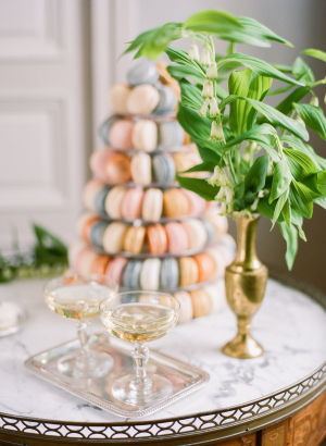 Tower of Macarons