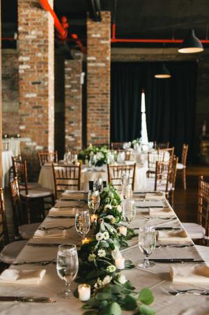 Warehouse Wedding Reception