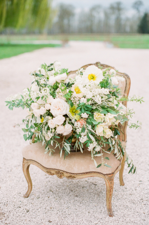 Wedding Flowers in Pale Yellow