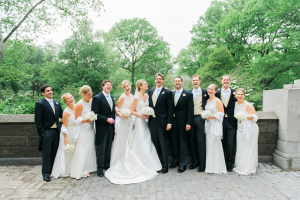 Wedding Party in Central Park