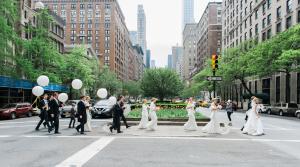 Wedding Party on Park Avenue