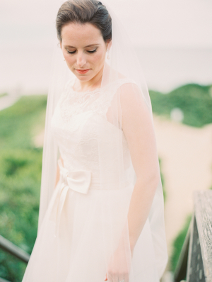 Amsale Gown with Bow