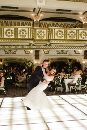 Ballroom Wedding in Chicago Sarah Postma 16