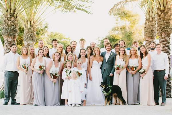 Beach Bridal Party