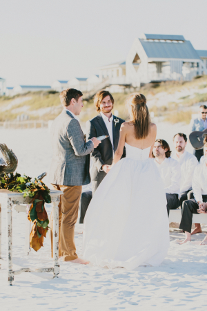 Beach Wedding in Seaside Florida
