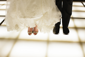 Bride and Groom on Dance Floor