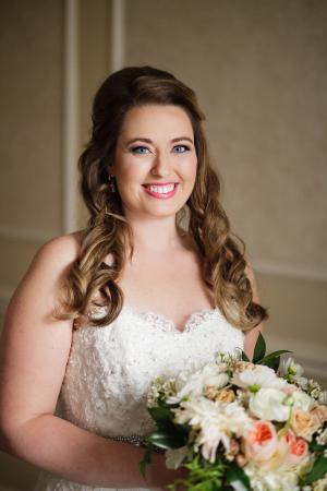 Bride in Sottero and Midgley