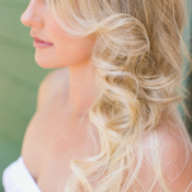 Bride with Loose Waves