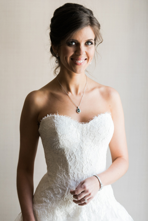 Bride with Vintage Jewelry