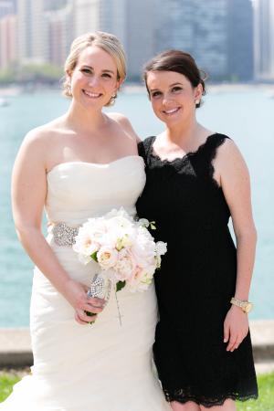 Bridesmaid in Black
