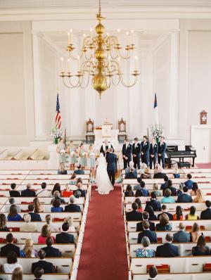 Chapel Wedding in Nantucket